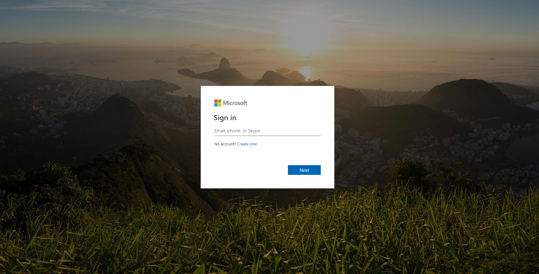 outlook-login-page