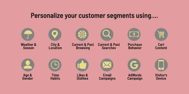personalize your customer segments
