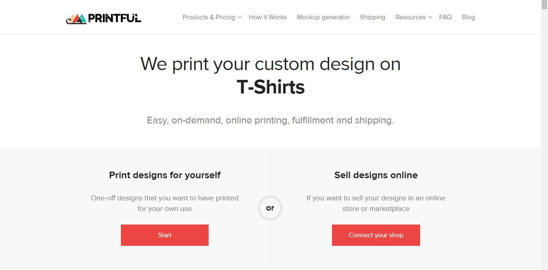 printful-print-on-demand