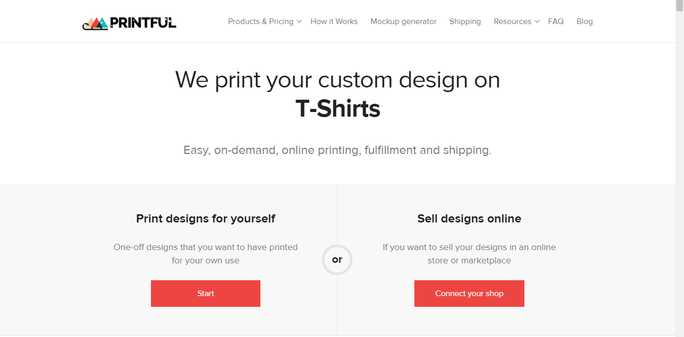 printful-print-on-demand