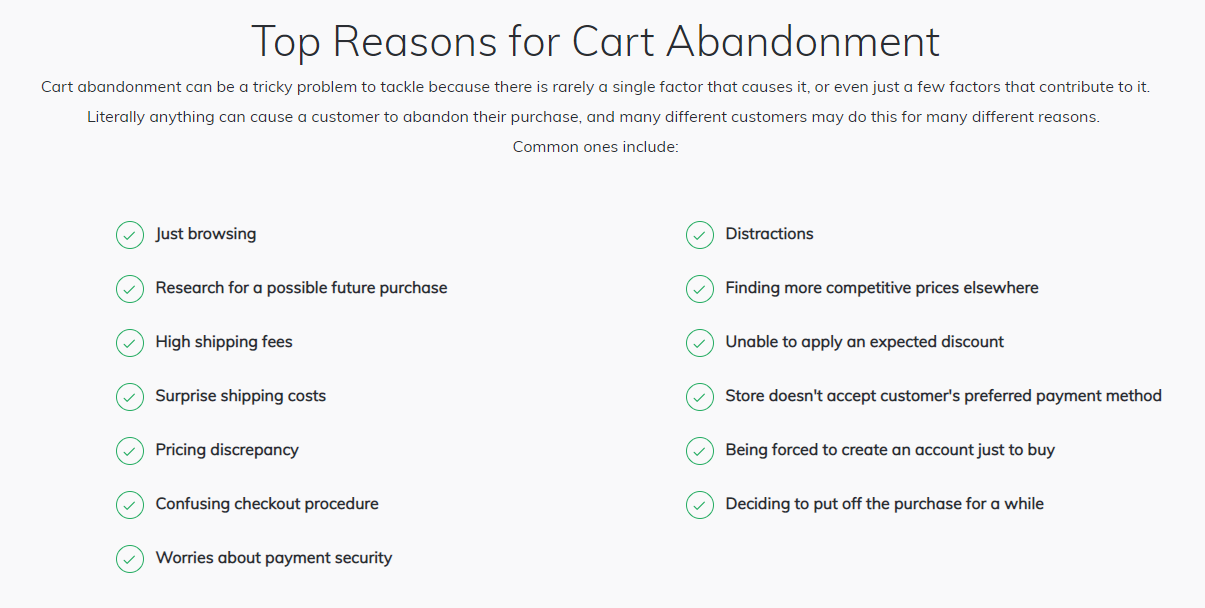 reasons-for-cart-abandonment