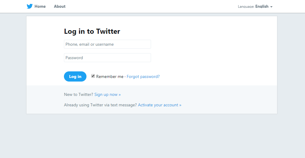 twitter-login-page