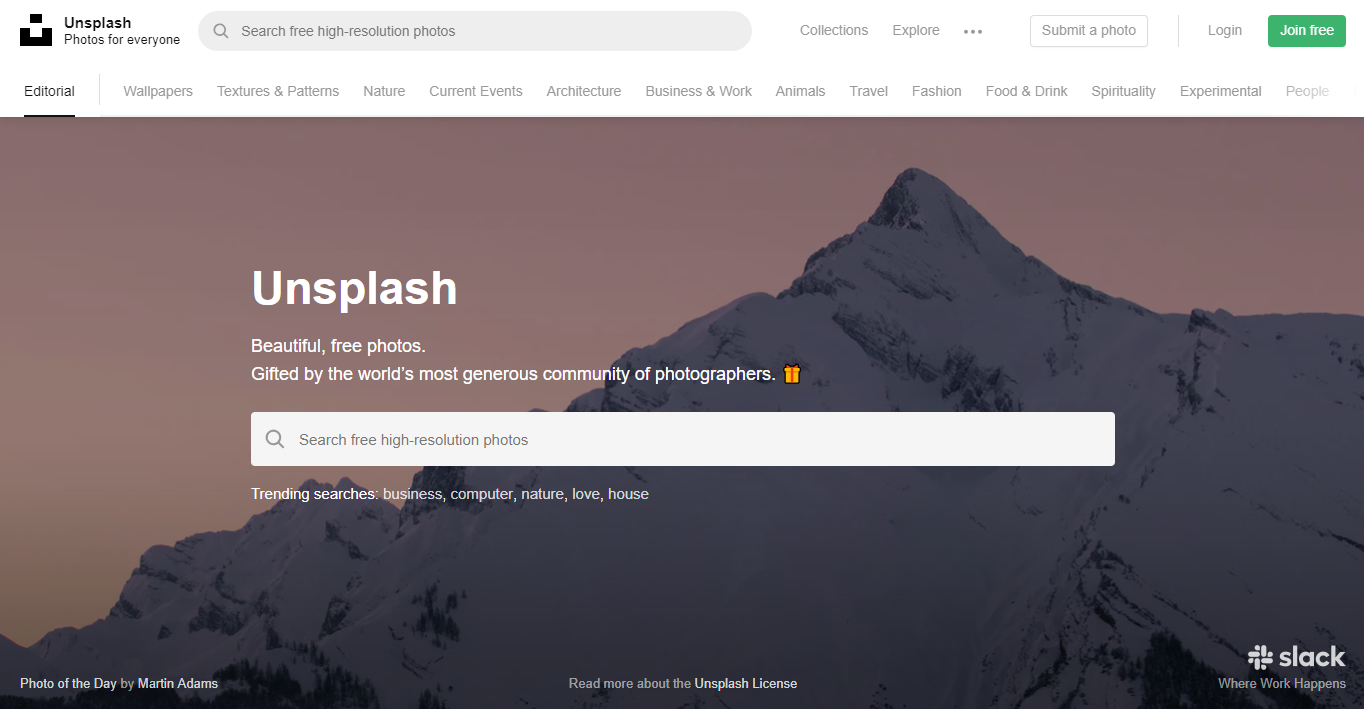 unsplash-stock-images