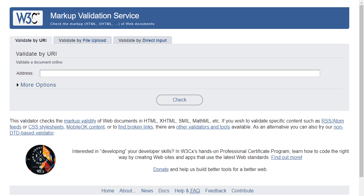 w3c-markup-validation-service