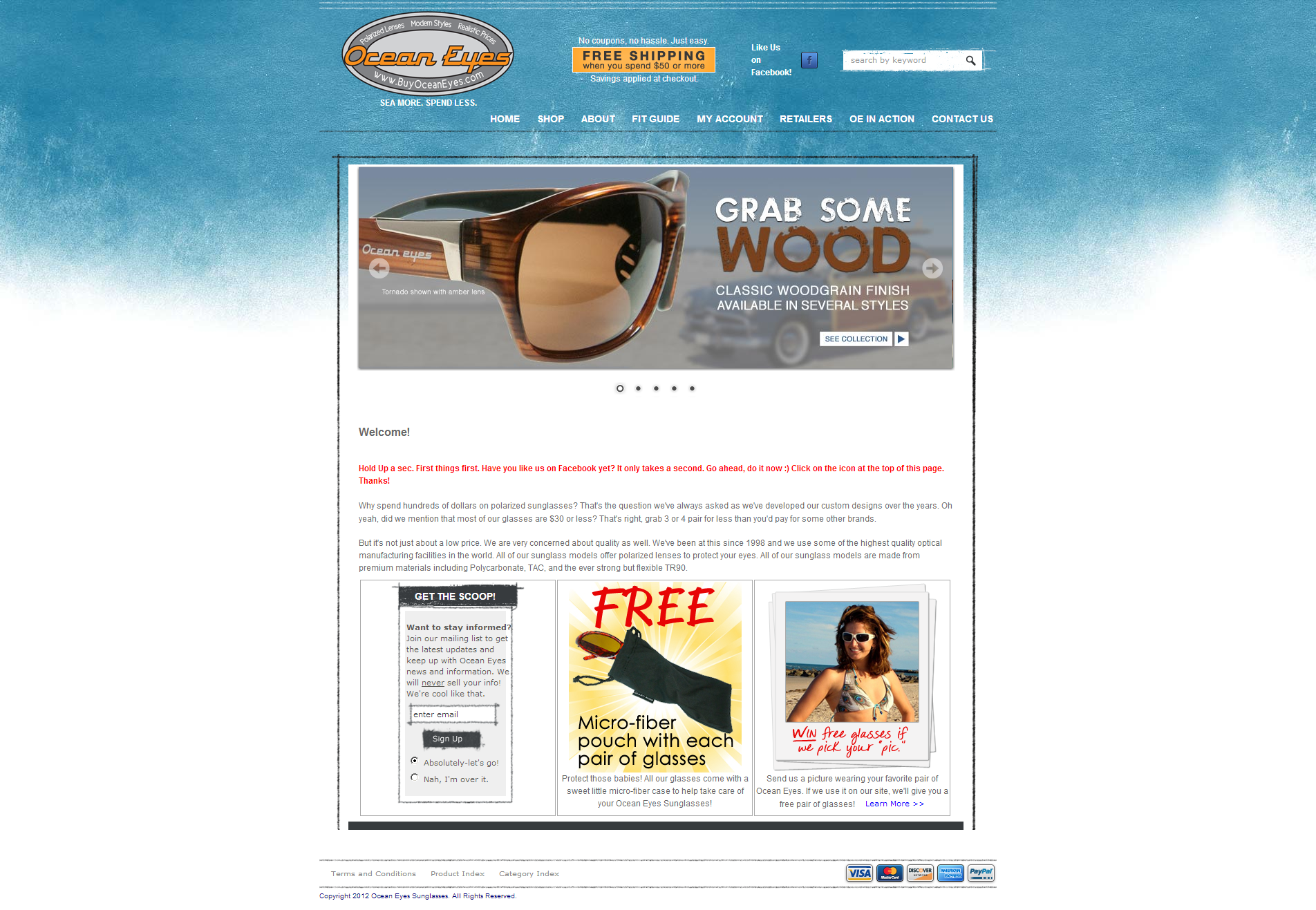 eac61d3d16ea Merchant Marketing Spotlight  Ocean Eyes Polarized Sunglasses