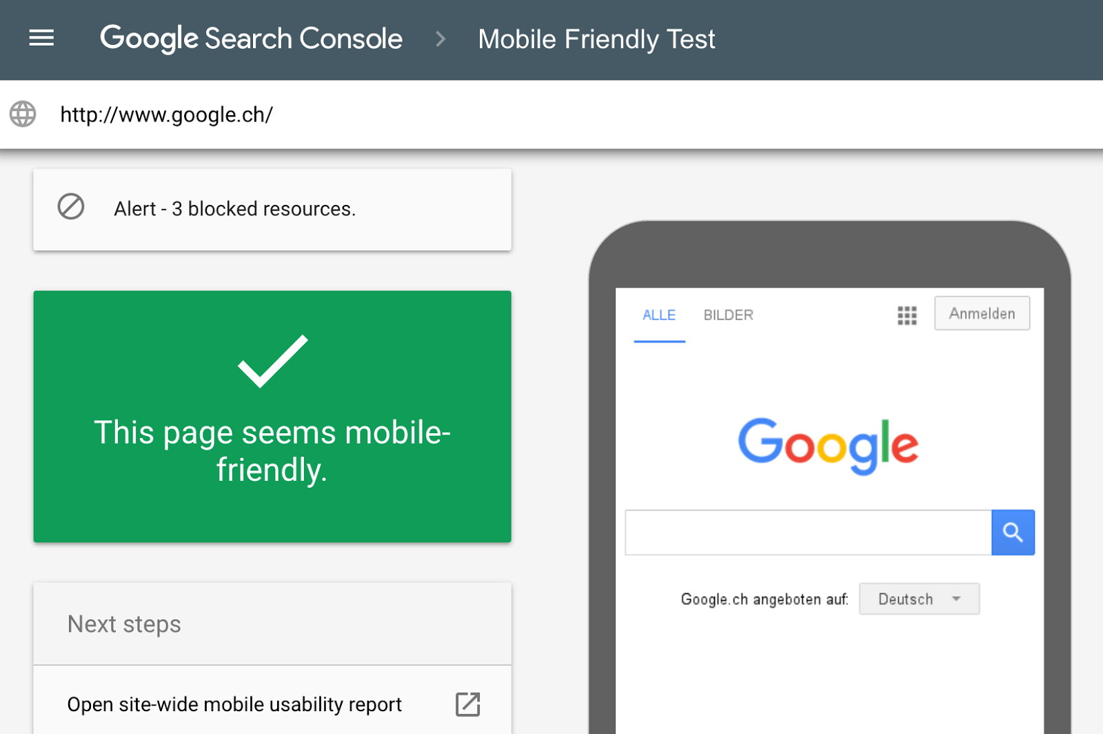 Google Launches New Mobile-Friendly Testing Tool