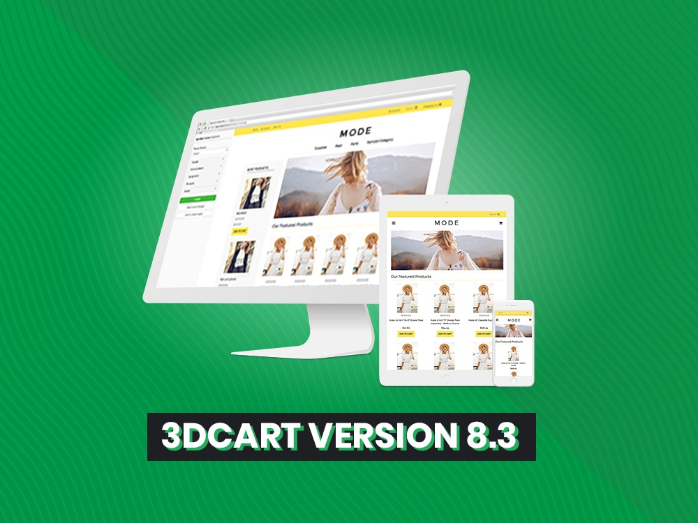 3dcart Version 8.3 Makes eCommerce Easier than Ever