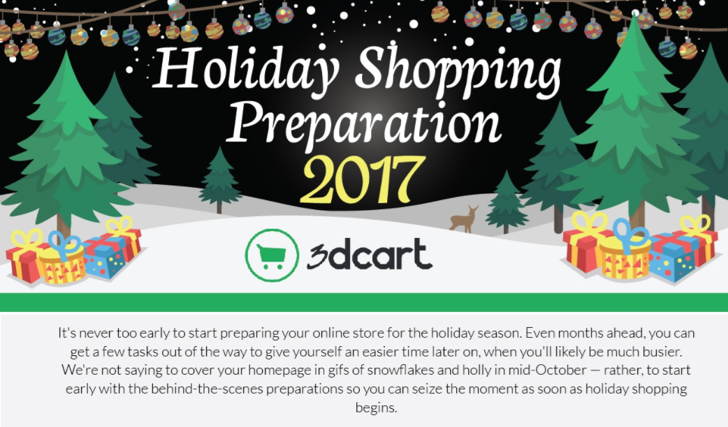 2017 Holiday Shopping Preparation [Infographic]