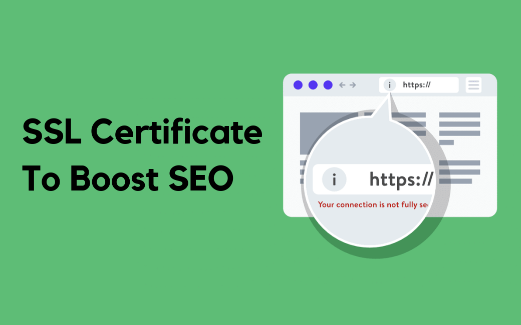 ssl certificate to boost seo